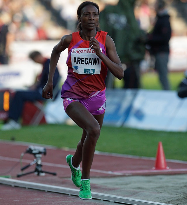 Abeba Aregawi Gebretsadik (born 5 July 1990) is an Ethiopian-born middle-distance runner, currently representing Sweden internationally, who specialises in the 1500 metres