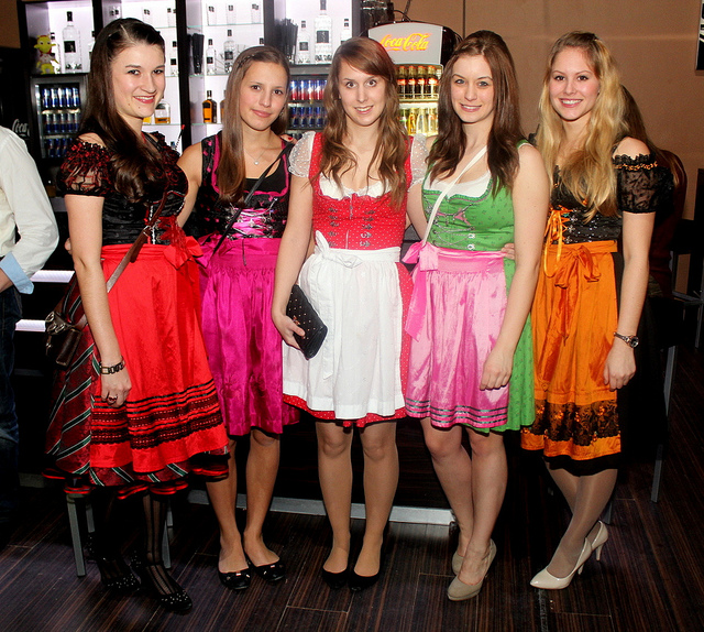 Traditional dress of Germany is a well preserved item in the German cultural heritage. Image by avarty 2
