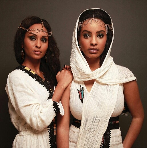 Habesha women of Eritrea normally wear the Habisha Kamis