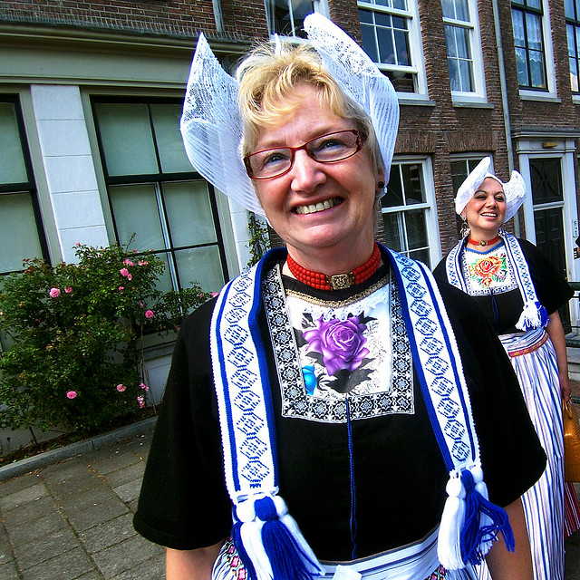 Volendam costumes. The Netherlands. Image by screenpunk