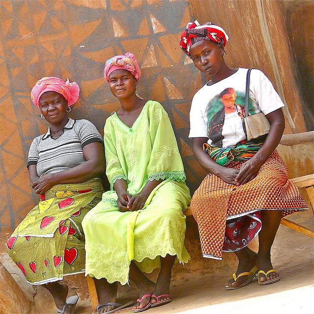 The women of Burkina Faso - Image by Rita Willaert 2