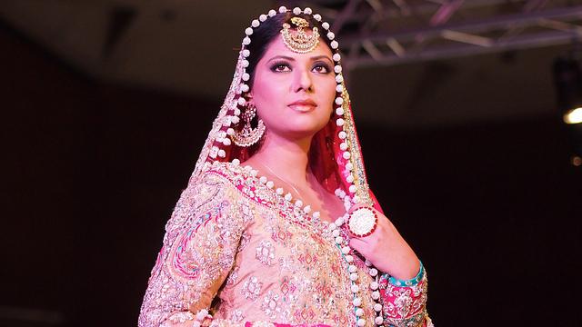 Pakistan Fashion Week is an annual fashion event organized in Karachi. Photo by Swamibu