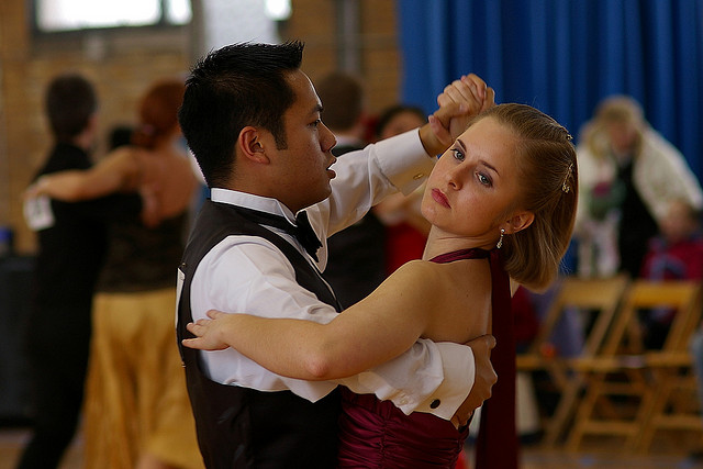 Waltz is a popular ballroom dance of the world, full of joy and entertainment. Image by Wigwam Jones