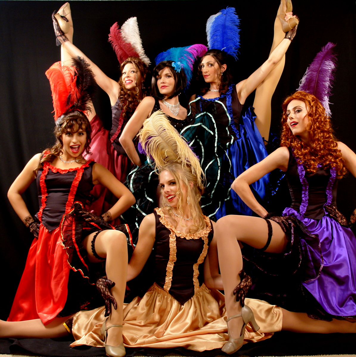 Cancan dancers are also often called in the joyful celebrations where they add fun and amazements to the events.