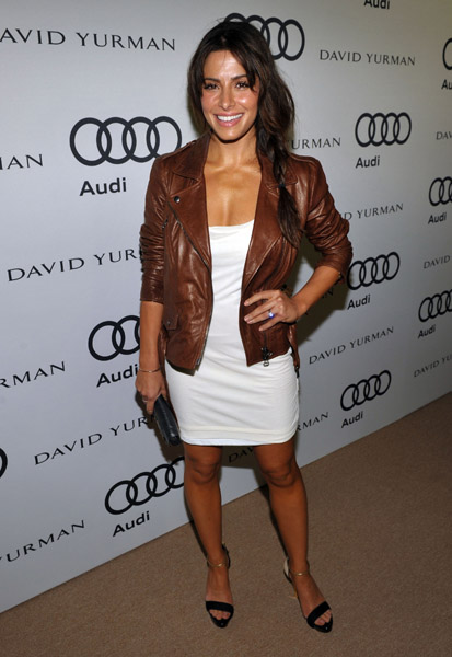 Actress Sarah Shahi attends Audi and David Yurman Kick Off Emmy Week 2011 and Support Tuesday's Children at Cecconi's Restaurant on September 11, 2011 in Los Angeles, California. Audi And David Yurman Kick Off Emmy Week 2011 And Support Tuesday's Children Cecconi's Restaurant Los Angeles, CA United States September 11, 2011 Photo by John Shearer/Getty Images North America  To license this image (124730822), contact WireImage.com