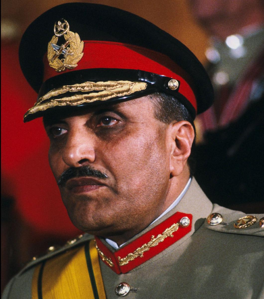 Genera; Zia ul Haq - Former military dictator of Pakistan