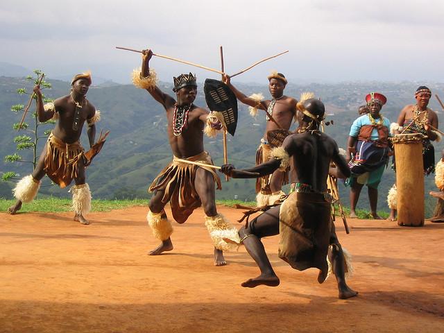 Zulu warriors - Image by jason&molly