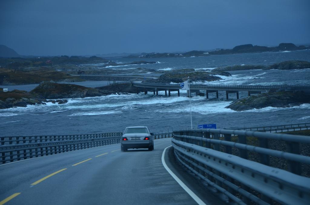 Atlantic ocean road in Norway. - Image by mmsmithgall