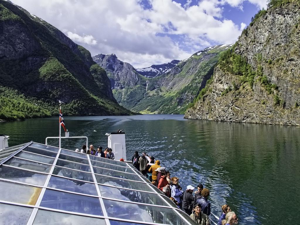 Aurlandsfjord view. Image by Dan Lundberg