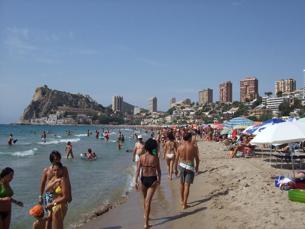 Benidorm Beach - Spain - Image Darren Wilkinson