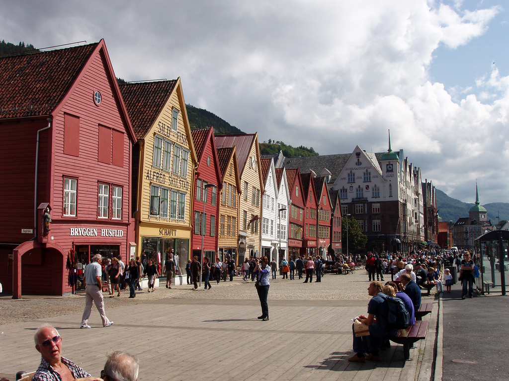 Bryggen - Norway - A sensational view of the architecture. Image by damiandude