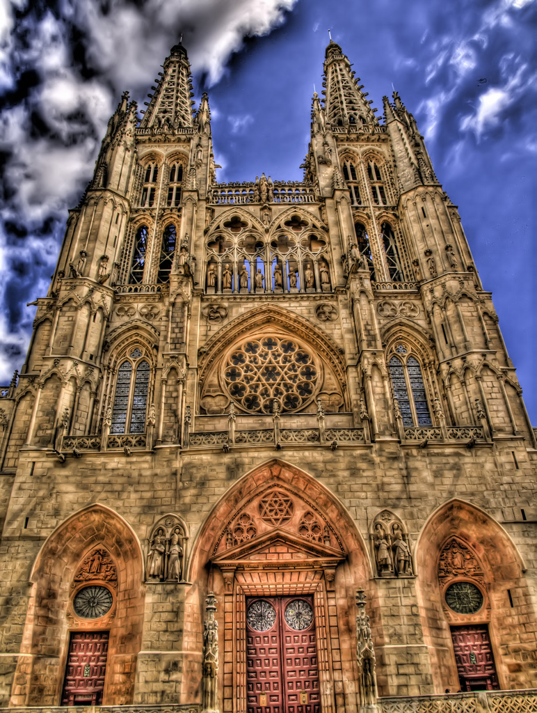 Burgos Cathedral. Image by javier.losa