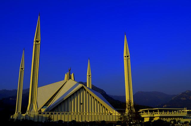 Faisal Mosque. Image by umairadeeb