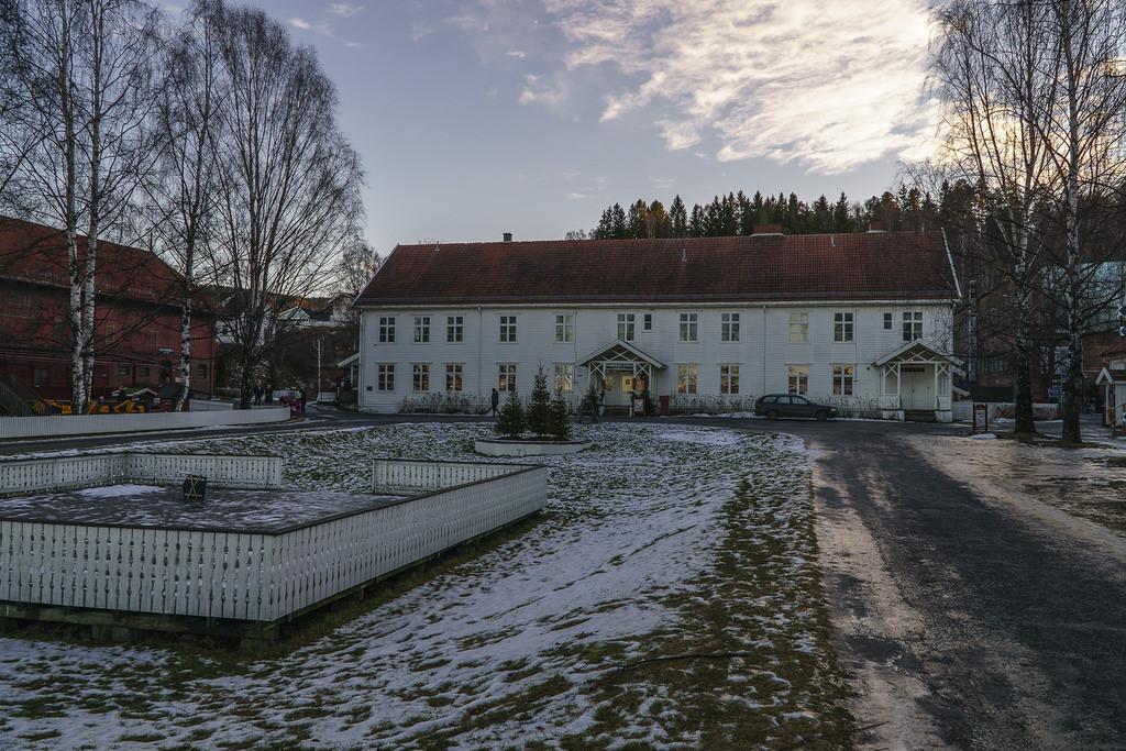 Hadeland glassverk in Norway. Image by jechstra