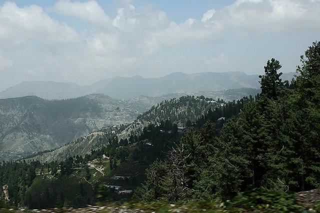 Khanapur. View from Khanspur. Image by Shehzad Salim