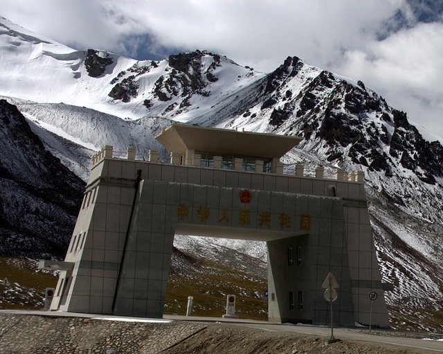 Khunjerab Pass. Image  by preston.rhea