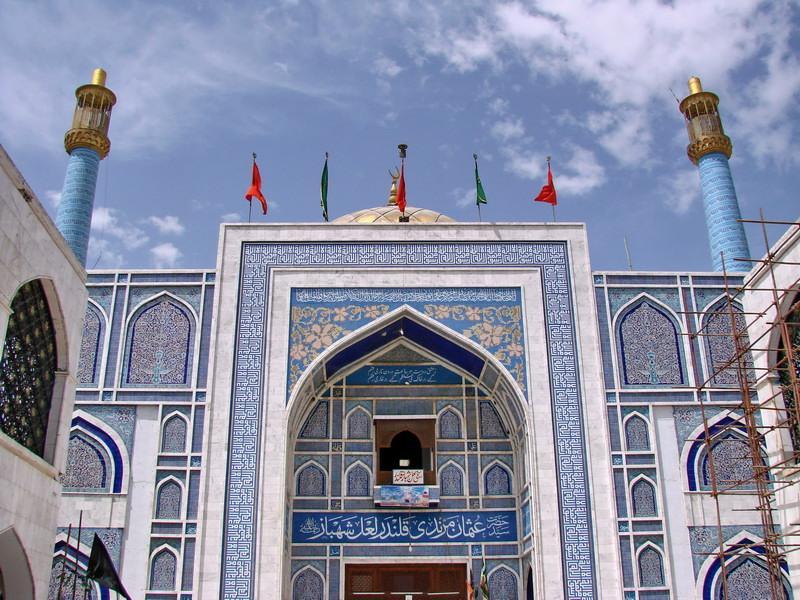 Sehwan Sharif - Tomb of Lal Shahbaz Qalandar.