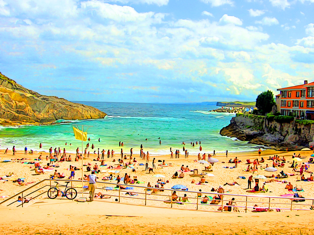 Llanes - Image by M. Martin Vicente
