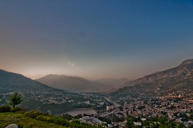 Muzaffarabad valley. Image by Salis