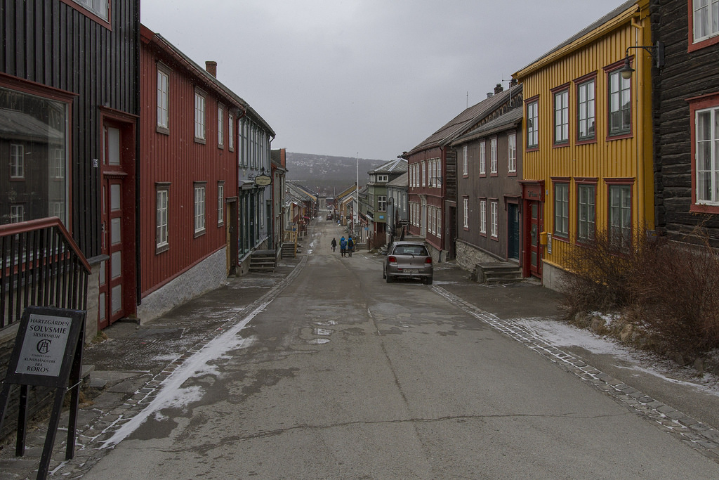 Roros Mining Town in Norway. Image by jechstra