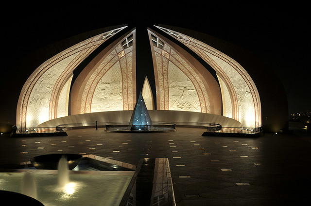 Shakarparian - Pakistan Monument. Image by Aleem Yousaf
