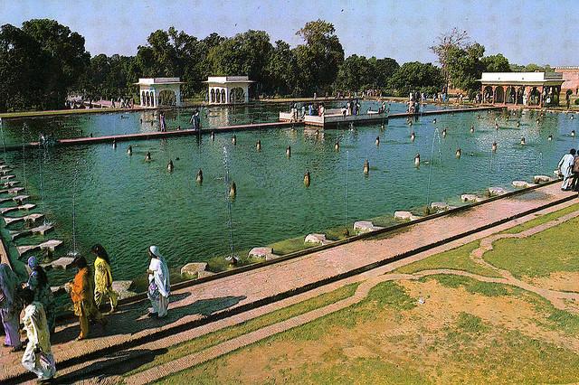 Shalimar Gardens, Lahore, Pakistan. Image by damiandude