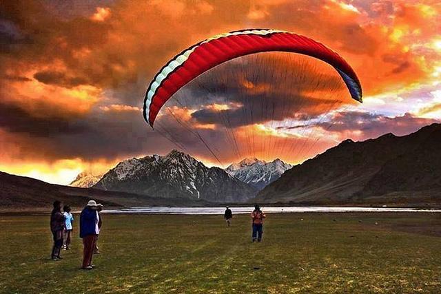 Shandoor Lake. Chitral. Pakistan. Image by Junaid Rao