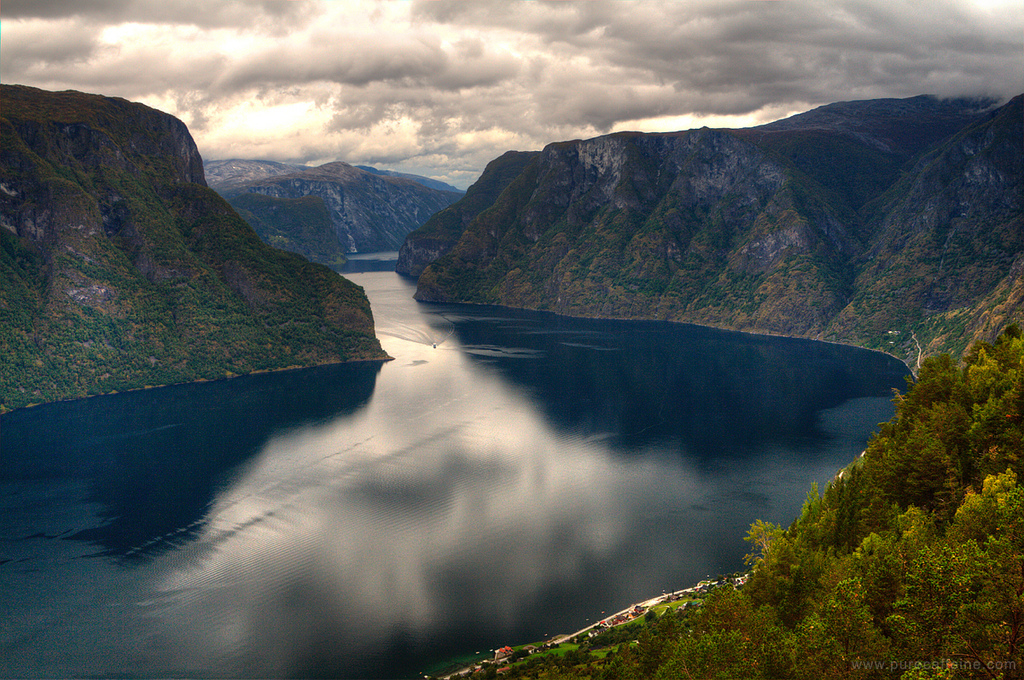 Sognefjord in Norway. A breathtaking view. Image by Nathanael Coyne