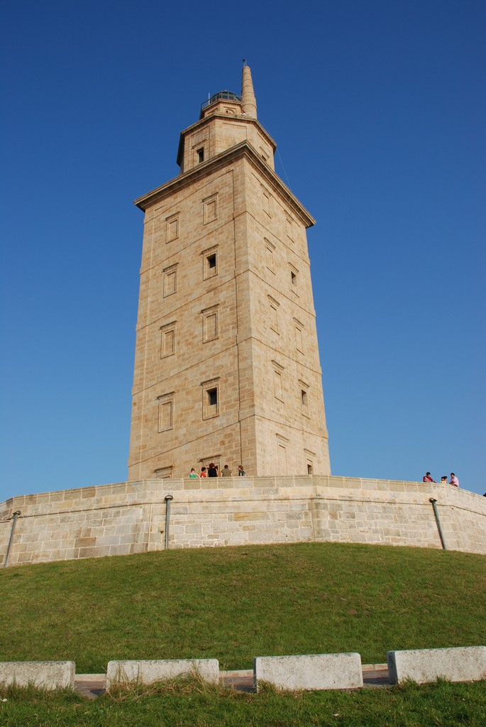 Tower of Hercules. Image  by Yellow.Cat