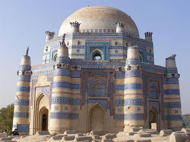 Uch Sharif  - Famous tomb- Image:  Ch. Khawar