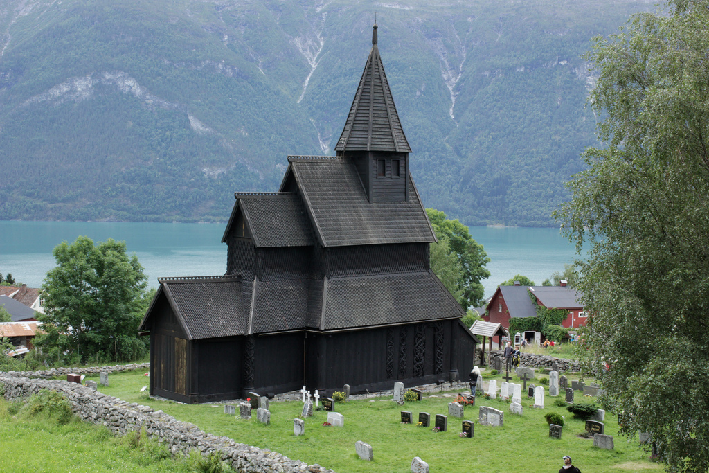 Urnes Stave Church in Norway. Image by evelina ander