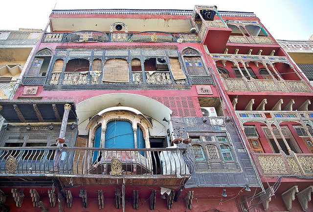 Walled City. Lahore. Image of classic restuarant Cuckoo Den. Photo by Michael Foley Photography