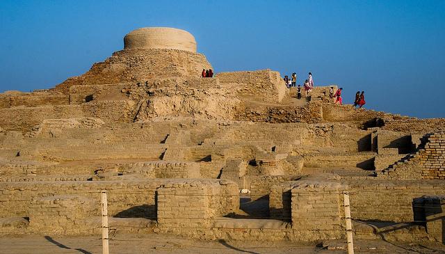 Mohenjo daro. Image by bennylin0724