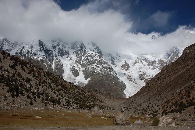A view from Nanga Parbat base camp. Photo credit:  mariachily