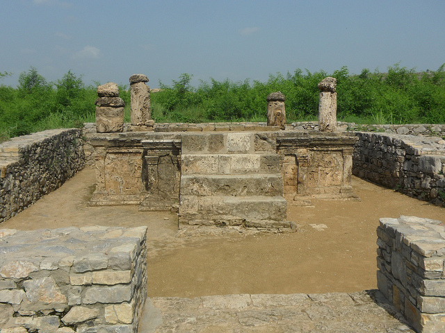 Taxila ruins. A phenomenal image by aawiseman