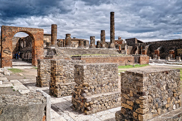Ruins of Pompeii - italy  by Andy BealPhoto.com