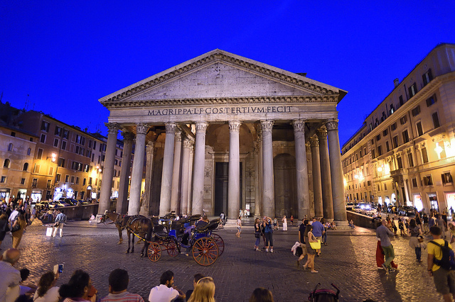 Pantheon of Rome - by diana_robinson