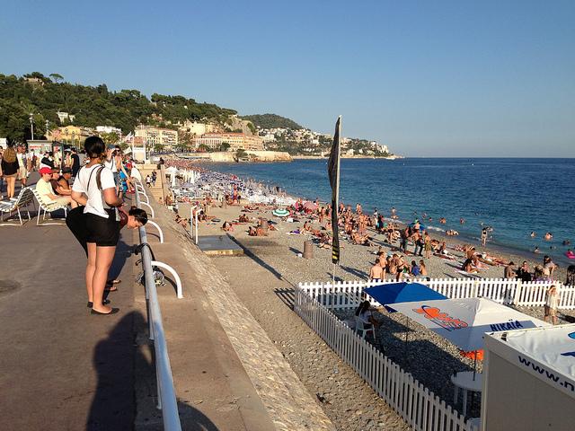 Promenade des Anglais - France by heatheronhertravels