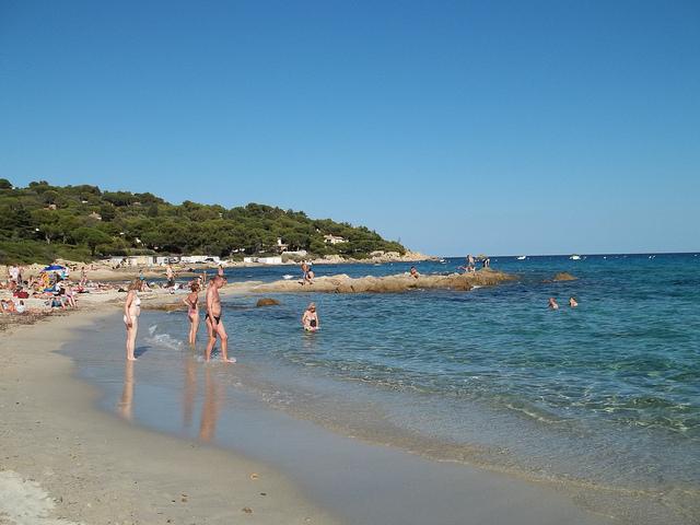 Saint-Tropez naturist beach by Iamericat