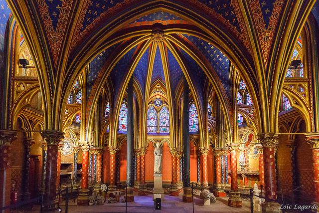 Sainte-Chapelle by Loïc Lagarde