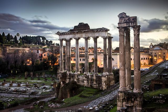 Roman Forum - Italy by Benson Kua