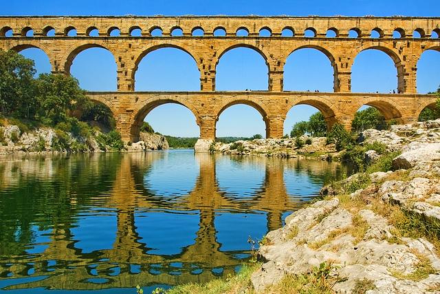 Pont du Gard - France by James-Hetherington