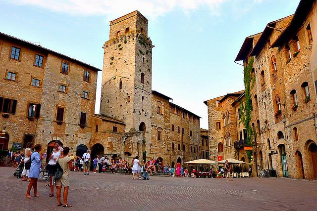 San Gimignano - Italy by Mathias Liebing