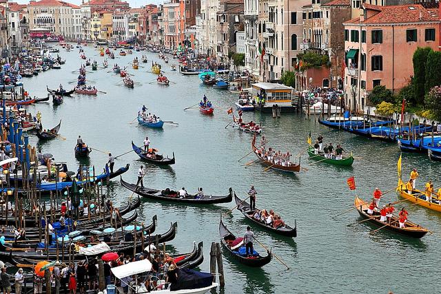 Canal Grande, Venice in Italy by Roberto.Trombetta