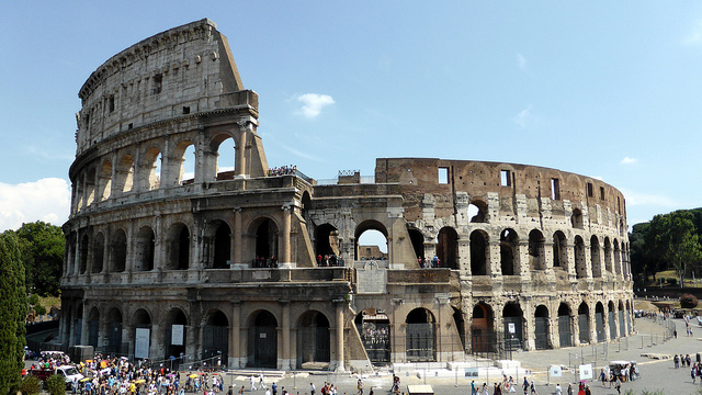 Colosseum - Italy by Sean MacEntee