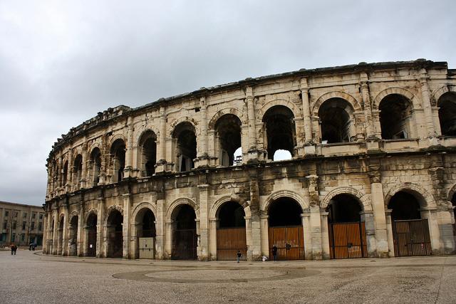 Roman Coliseum - Nimes, France by Trevor.Huxham