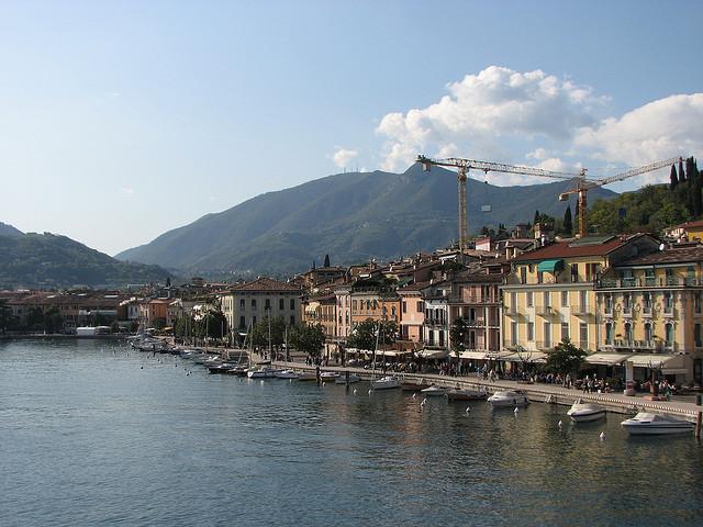 Lake Garda - Italy by Wangbar
