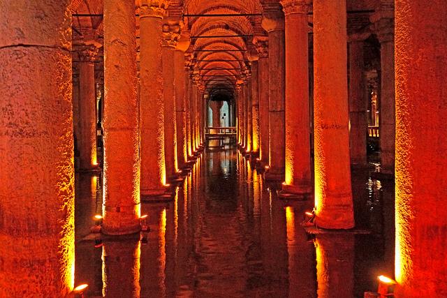 Basilica cistern - Turkey. Image by archer10 (Dennis) (51M Views)
