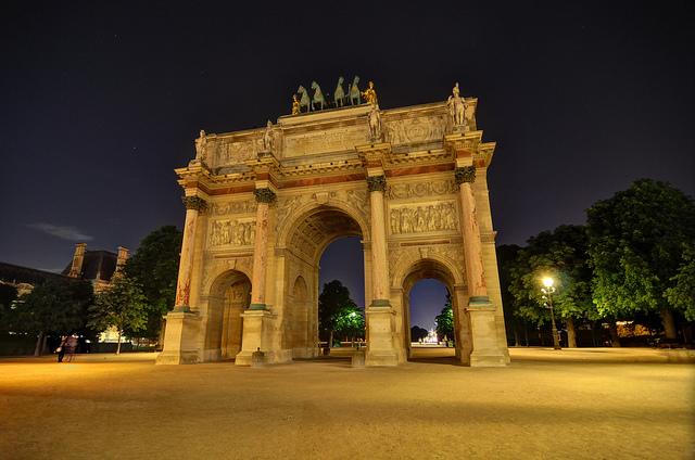 Arc de Triomphe - France by miketnorton