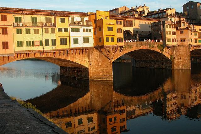 Ponte Vecchio Italy by petervisser4u